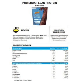 PowerBar Lean Protein Beutel 500g Chocolate